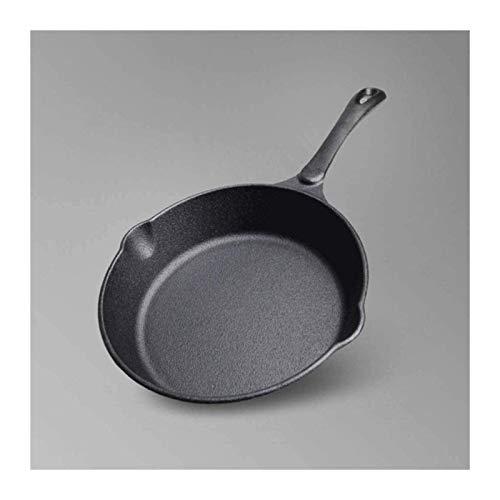 Wok Antiadherente Skillet Cacerola de Wok de gran capacidad para el hogar, wok huevo frito, sartén duradero, robusto y libre de humo
