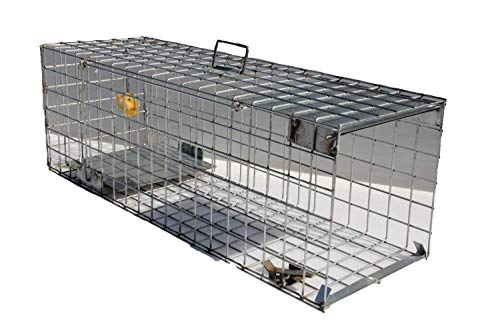 TRAPGALLIER piège Cage ragondins, Chats Errant. 1 entrée 80x25x25