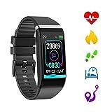 Sonkir Fitness Tracker, Activity Tracker Smart Watch con cardiofrequenzimetro, Monitor della Pressione sanguigna Contapassi Contacalorie Chiamata e SMS Pedometro Orologio per Donna Uomo Bambini