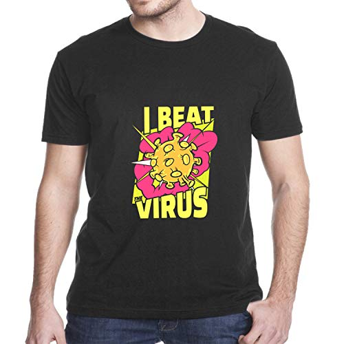 I Beat Co_rona_Virus Tee Shirt, Beat Co_vid hot Trend t Shirt, Tank top, Hoodie for Men and Women (Design 1 - Options)
