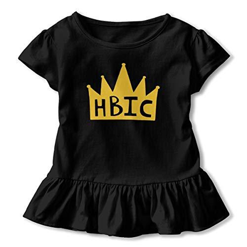 JVNSS Alien Shirt Printed Baby Girls Flounced T Shirts Shirt Dress for 2-6T Baby Girls