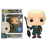 Funko Pop Draco Malfoy 19 Harry Potter Figure 9 CM Quidditch Underground Toys #1