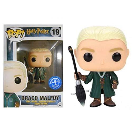 Funko Pop Draco Malfoy 19 Harry Potter Figuras 9 cm Quidditch Underground Toys #1