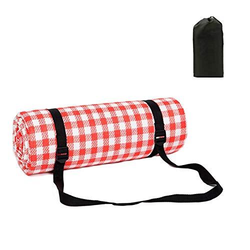 Picknickdecke Extra große Strand-Campingdecke Tragbar Leicht Leicht Wasserdicht 200 x 200 cm / 79