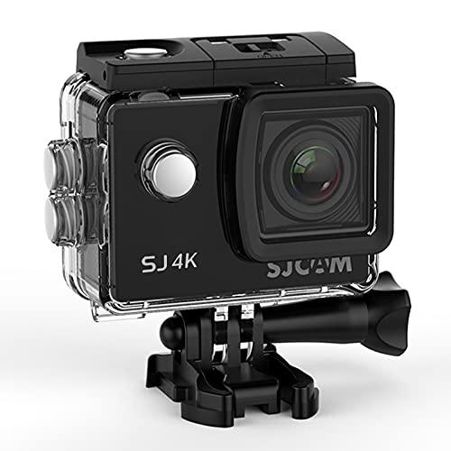 SJCAM SJ4K Action Camera Full HD 4K Waterproof Underwater Camera 12MP Sports Camera Camcorder 2.0 LCD Screen Display -Black