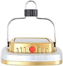Portable Lightweight Solar Lanterns, LED Tent Camping Lamp USB Flashlight Rechargeable Battery Tent Light