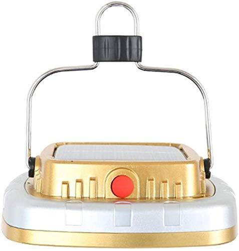Draagbare lichtgewicht zonnelantaarns, LED-tent Campinglamp USB-zaklamp Oplaadbare batterij Tentlicht