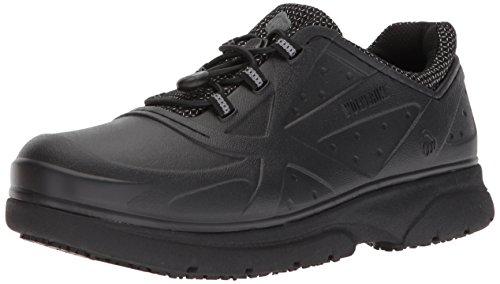 WOLVERINE Women's Serve SR Health Care Professional Shoe, Black, 7 M US
