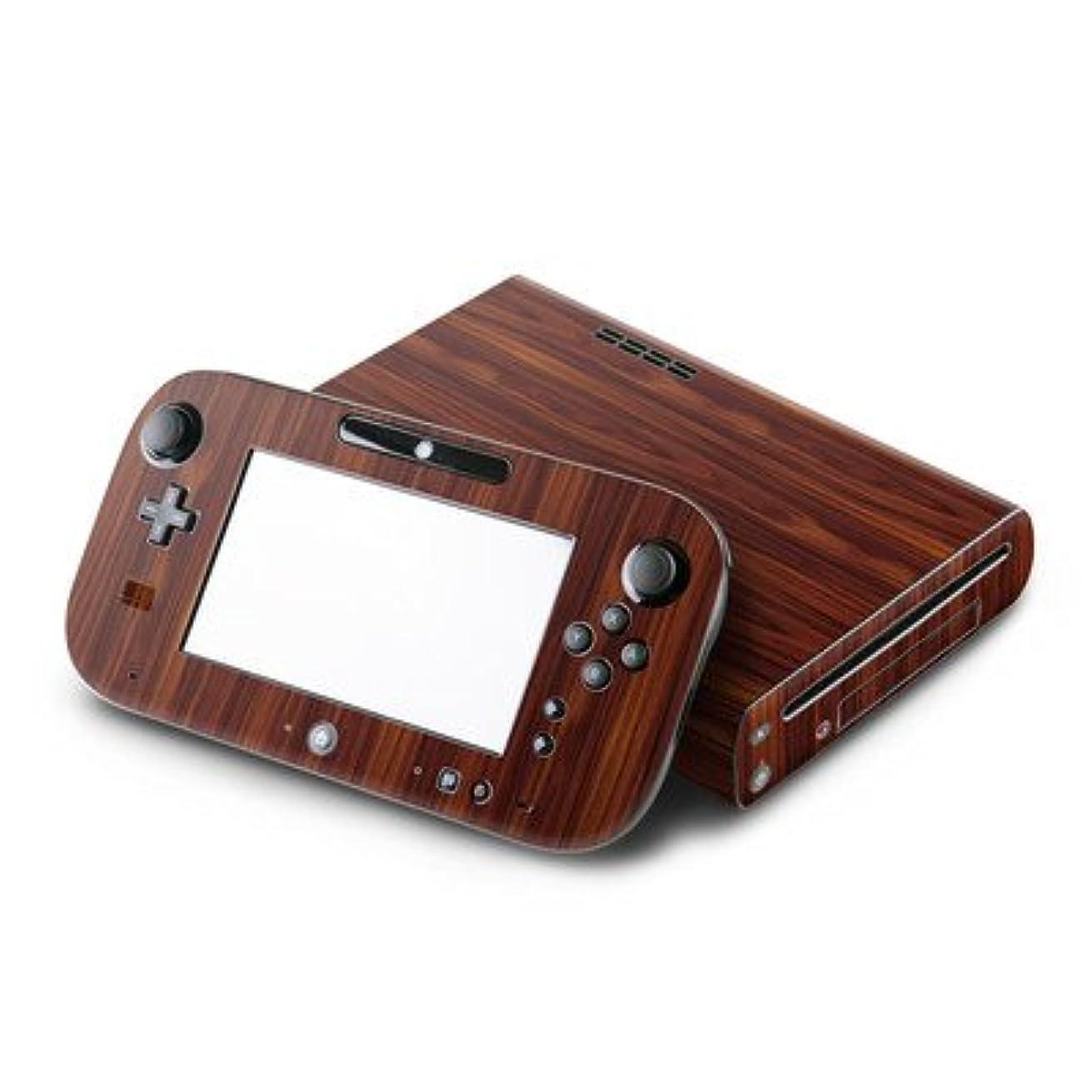 体現する攻撃ポスト印象派【Decalgirl】 ニンテンドー Wii U用スキンシール【Dark Rosewood】