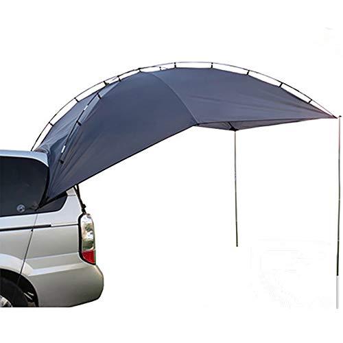 APENCHREN Carpa portátil para Coche/Sail Shade Sail, toldo UV, Recorrido autocontrolado del automóvil - para Acampar al Aire Libre, Barbacoa y Pesca, 350 x 240 x 10 5 cm,Blue