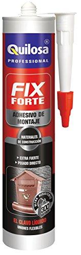 Quilosa T045120 Adhesivo de Montaje Forte, Crema