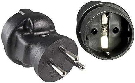 Dinic Reisestecker Stromadapter Für Israel 3 Pin Elektronik