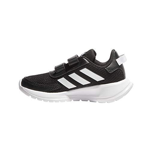 adidas Unisex-Child Tensaur Run Sneaker, Core Black/Footwear White/Core Black, 31 EU