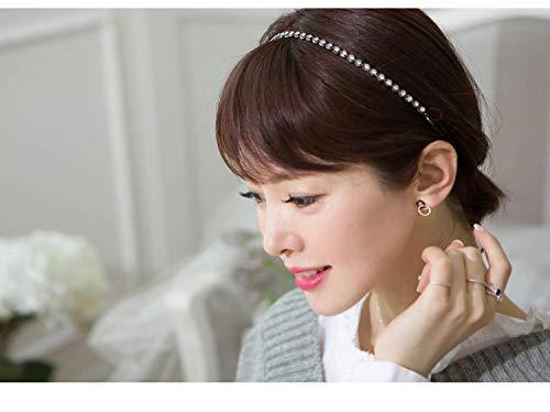 Pendientes Mujer Moda 925 Pendientes De Círculo Doble De Cristal De Plata Esterlina Regalo De Mujer Joyería De Moda