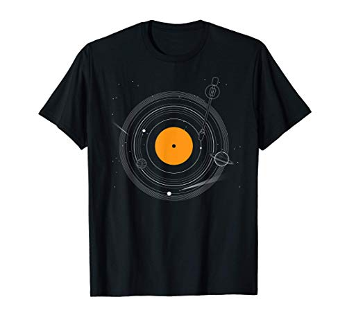 Disco Vinilo Tocadiscos Música DJ Regalos Camiseta