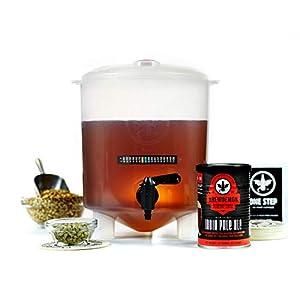 Kit para Hacer Cerveza Artesana | 4 litros | Sabor Exclusivo Wild Spirit Ipa | Producto de USA con Fermentador Cónico