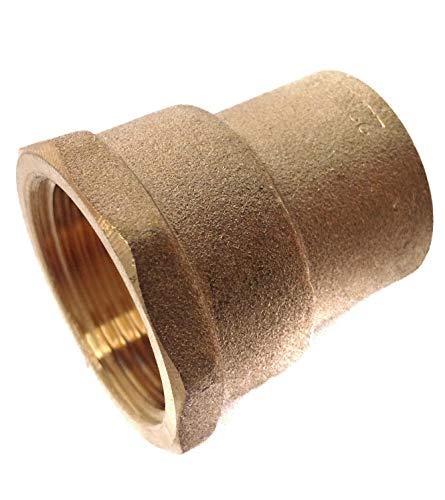 Conector hembra BSP de 15 mm x 3/8 pulgadas, paquete de 5