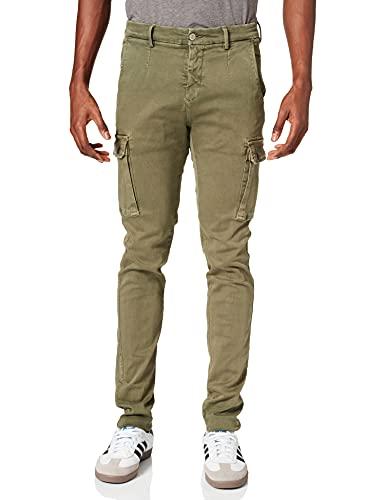 REPLAY Jaan Jeans, 677 Hunter Green, 33W x 34L Uomo