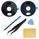 Ubrokeifixit for Moto Z4 XT1980 Back Rear Camera Glass Lens Cover Replacement with Tape for Motorola Moto Z4 XT1980-4 Verizon XT1980-3 LTE 6.4'(NOT for Moto Z4 Play) (Black)