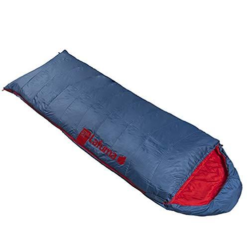 Lafuma - Active 10° XL - Schlafsack für Erwachsene mit Kompressionsbeutel - Synthetisch - Wasserabweisend - Camping- und Trekkingausrüstung - Komforttemperatur von 12° C - Blau/Rot