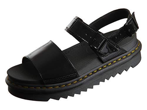 Dr. Martens Women's Ankle Strap Sandal, Black, 9
