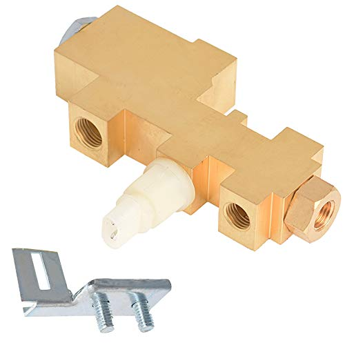 labwork PV6 Brake Proportioning Valve for Disc Drum Brakes with Bracket PV6070FD Replacement for 1965-1973 Ford Mustang Fairlane Galaxie