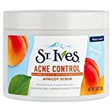 St. Ives Acne Control Apricot Scrub 10 oz (Pack of 6)