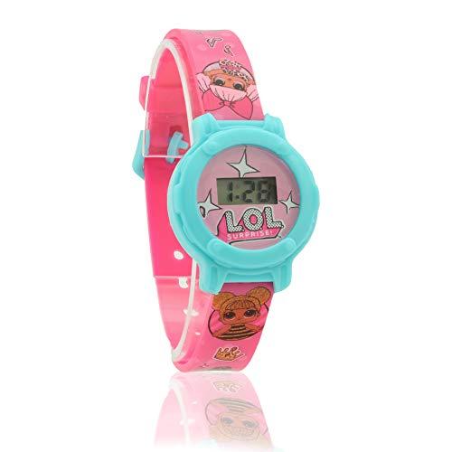 L.O.L. Surprise ! Reloj Digital para Niñas con Cara Y Banda...