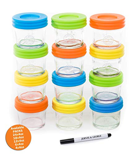 Glass Baby Food Storage Containers