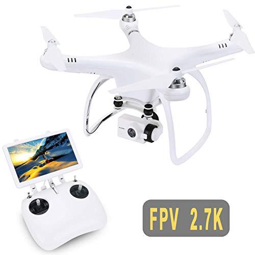 UPair One Drohne mit 120° Weitwinkel-2.7K-HD-Kamera, 5.8G RC-Quadcopter FPV-Liveübertragung, GPS-Auto-Return-Funktion, 2.7K-Videodrohne für Anfänger