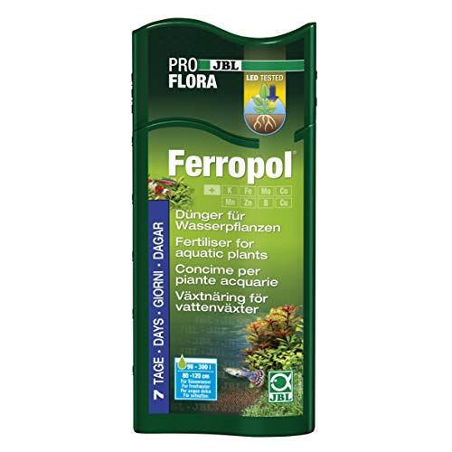 JBL Ferropol 23043, Pflanzendünger für Süßwasser-Aquarien, 500 ml