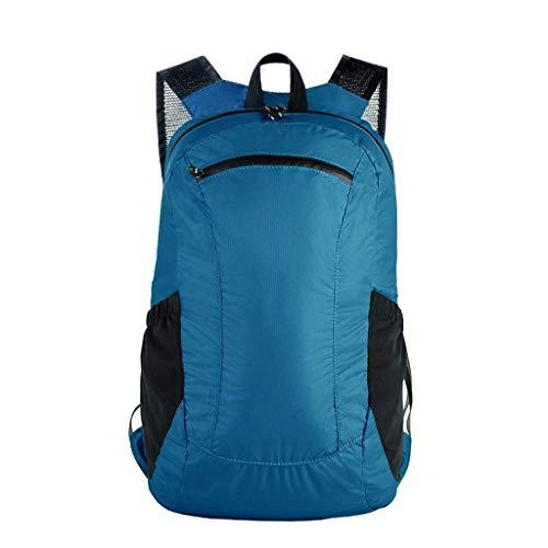 ZLVWB Der haltbarste, leichteste und packbarste Rucksack, wasserdichter Wanderrucksack for Männer und Frauen (Color : B)