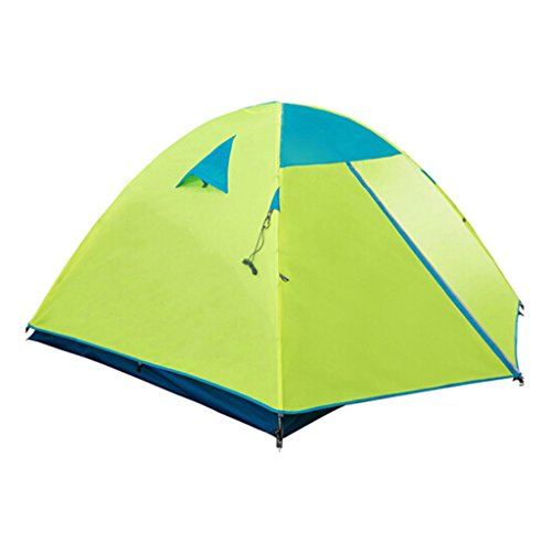 P&B Ping Bu Qing Yun Three Quarter Tents Outdoor Double Floor Camping Tent Set tents for camping (PATTERN : B)