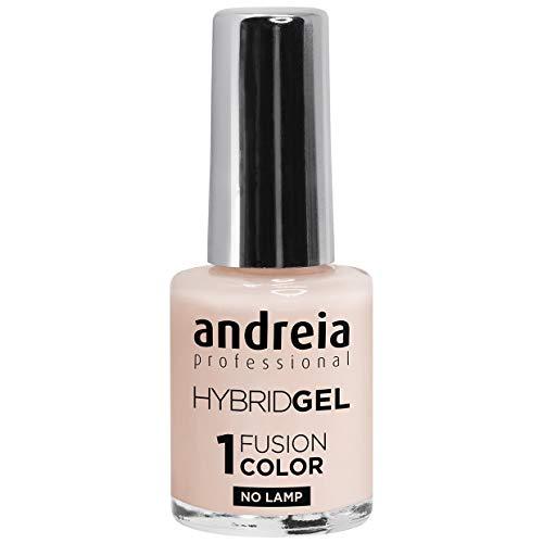 Andreia Esmalte de Uñas Semi-Permanente - Hybrid Gel – 2 pasos y no requiere lámpara de larga duración y fácil eliminación – Fusion Color H10