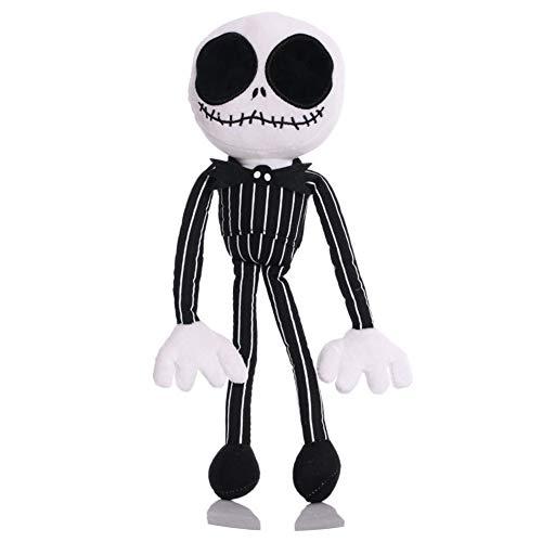 MEKBOK Jack Skellington Plush Toy Young Jack Doll Nightmare Before Christmas Toys 16 inch
