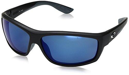 Costa Del Mar Saltbreak 580P Saltbreak, Black Blue Mirror, Blue Mirror