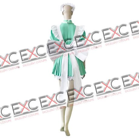 『【コスプレ】東京ミュウミュウ 風 碧川れたす メイド服 タイプ 衣装 女性用M』の2枚目の画像