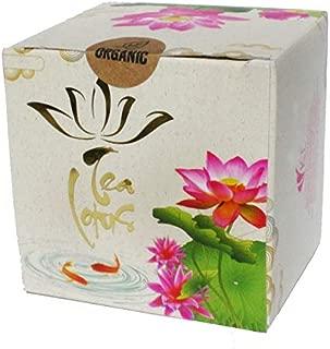 Tea Lotus Flower Tea Herbal Organic Dried Whole Blossom - 5 per Box