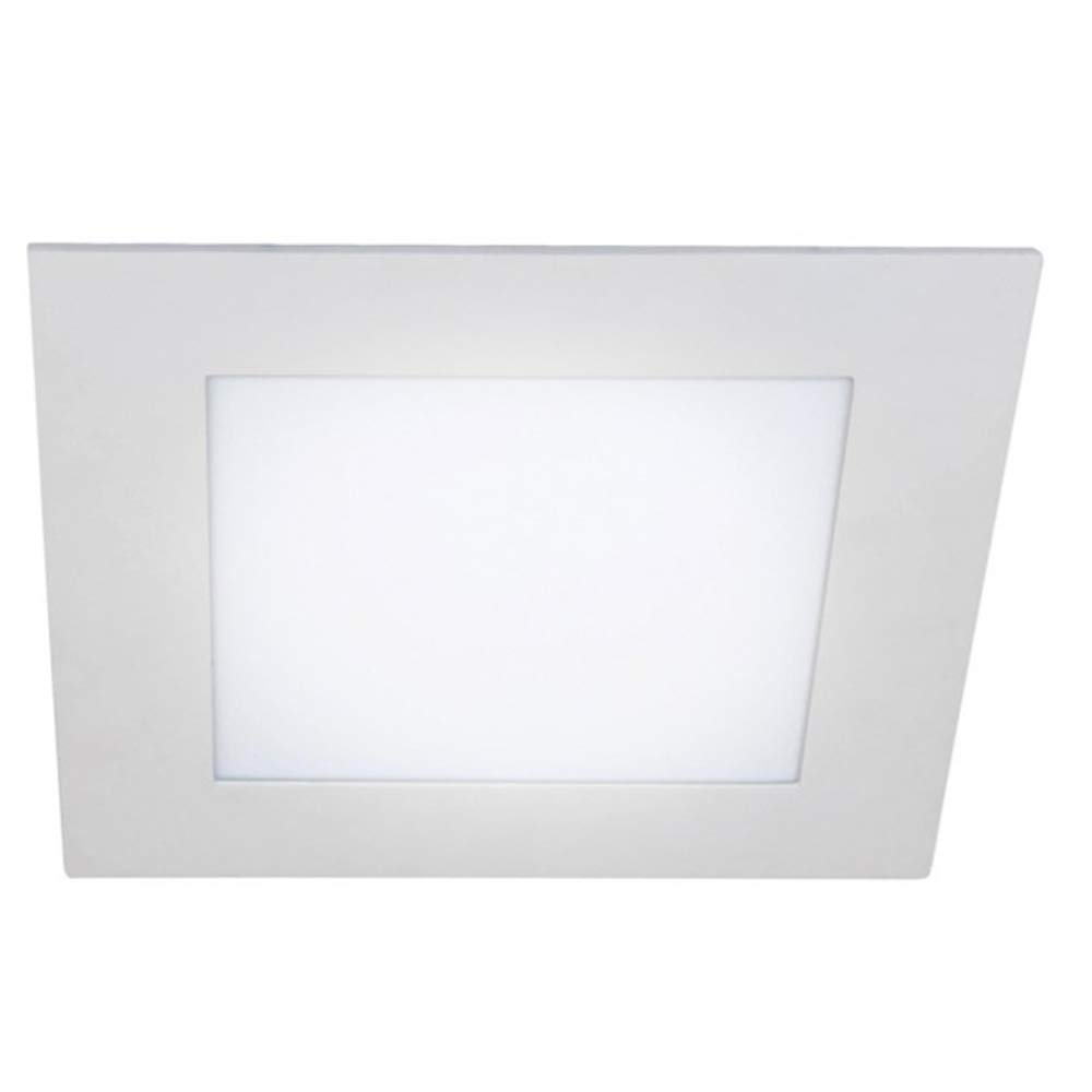 Wonderlamp W-E000120 W-E000119-Pack 2 x Downlight LED extraplano Cuadrado, iluminacion 18W (1450 LM), 4000K (luz Neutra), 220 W, Blanco: Amazon.es: Iluminación