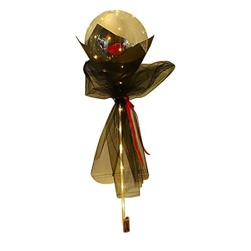 Gaoqi Ramo de Rosas LED Luminoso Navidad Decorar Regalo Decoración Fiesta Boda, Decoración del hogar Pascua y Eid Onsale