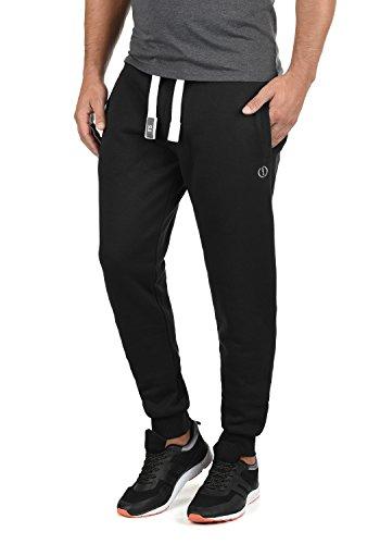 !Solid BennPant Herren Sweatpants Jogginghose Sporthose Mit Fleece-Innenseite Und Kordel Regular Fit, Größe:XXL, Farbe:Black (9000)