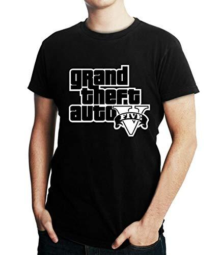 Camiseta Masculina Gta V Jogo Gta 5 Games (M)