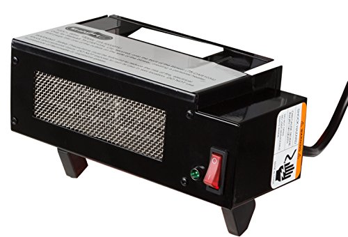 Heater Attachment for Industrial Portable Fan Blower with Overload Protection by Stalwart