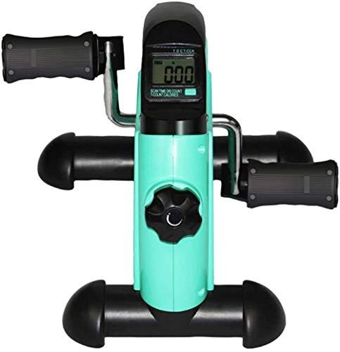 Vloerpedaaltrainer Mini-hometrainer - Verstelbare weerstand - Onder bureau Fietspedaaltrainer voor been- en armtraining(Upgrade)