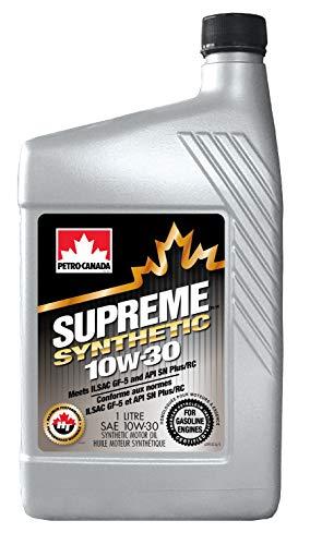 Petro-Canada Supreme Synthetisch 10W-30 multigrade auto motorolie, 1 l