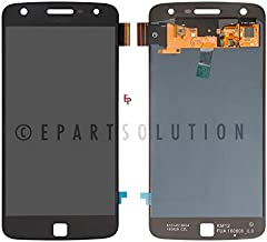 ePartSolution_LCD Display Touch Screen Digitizer Glass Assembly for OLED Motorola Moto Z Play XT1635-02 | Droid XT1635-01 Replacement Part USA (Black)