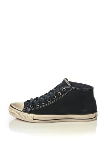 Converse Sneaker Alta all Star Clean Mid Suede Blu Navy EU 44.5