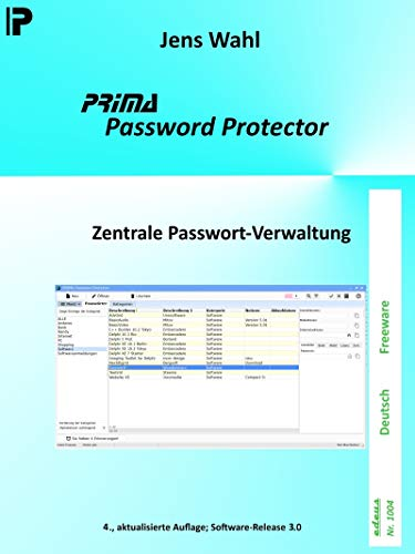 PRIMA Password Protector: Zentrale Passwort-Verwaltung (edeus 1004)