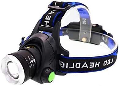 Yuxahiugtd Head lamp Portable Zooming Led mart Boston Mall Fi Waterproof Headlamp