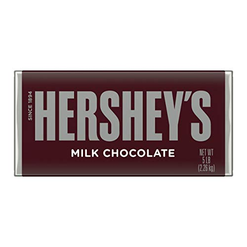 HERSHEY'S Milk Chocolate Easter Candy, 5 Pound, Giant Bar